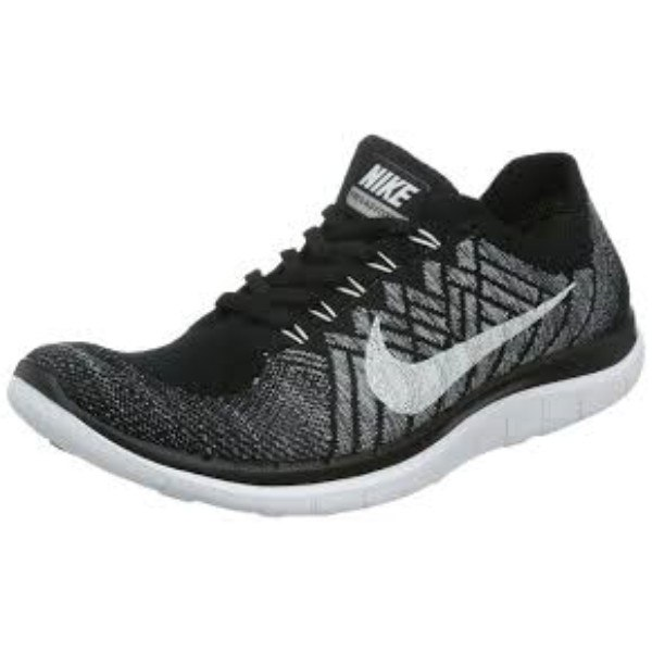 nike free flyknit 4.0 womens shoes black gray white shower