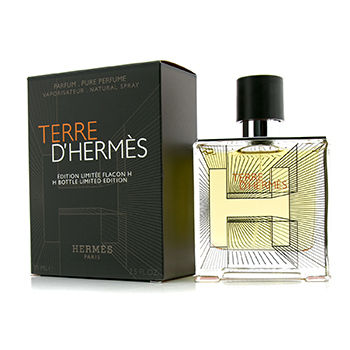 Terre D'Hermes Pure Parfum Spray 2014 H Bottle Limited Edition 34669 75ml