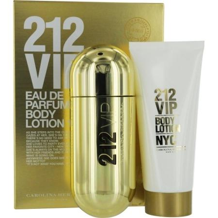 CH 212 VIP – Eua De Pefume (spray 1.7 FL OZ-50ml) Body Lotion(3.4 FL OZ-100ml)