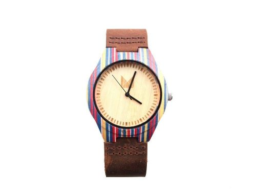 Bamboo Watch Rainbow L  for men