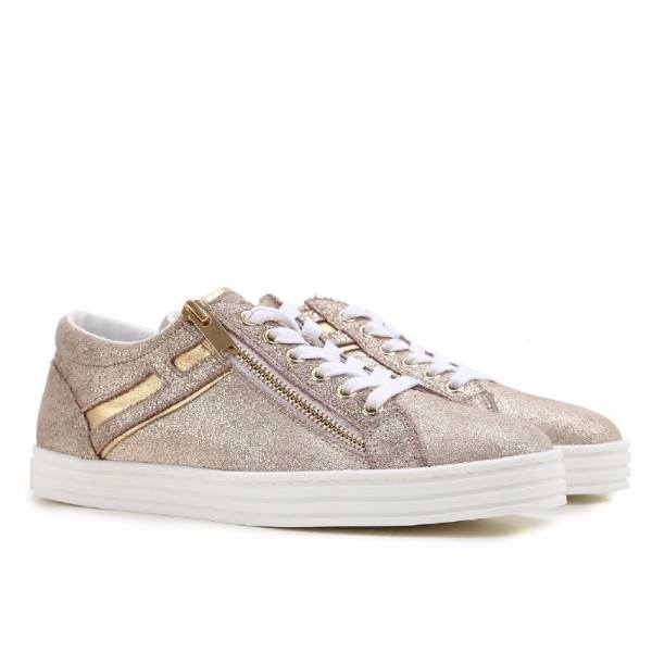 Sneakers for Women On Sale, Silver, Suede leather, 2017, 2.5 3 4 5.5 7 Hogan