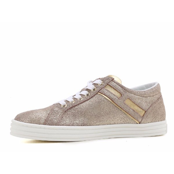 Sneakers for Women, Golden Pink, Leather, 2017, 3.5 4 4.5 5.5 7.5 Hogan